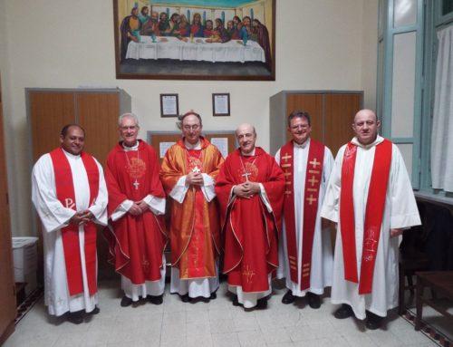 Presidência da CNBB visita o Colégio Pio Brasileiro