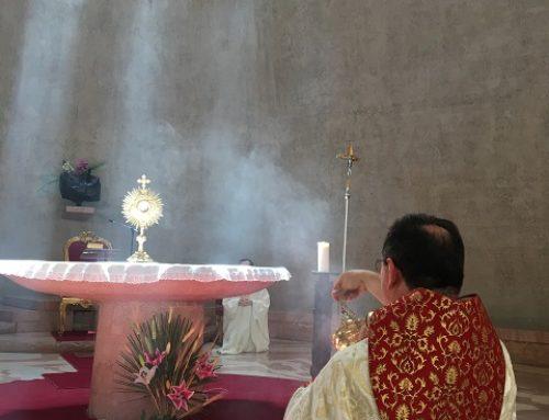 Corpus Christi é celebrado no Colégio Pio Brasileiro com missa e procissão