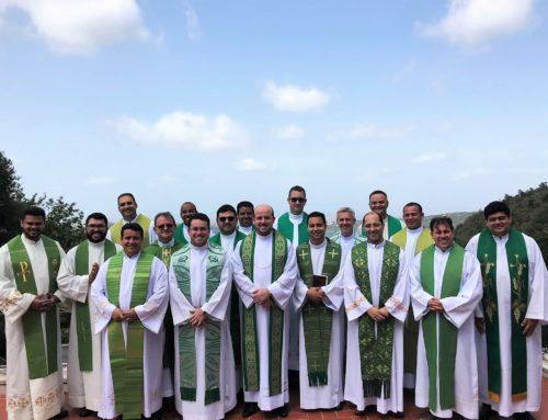 Novos presbíteros estudantes participam de Retiro espiritual