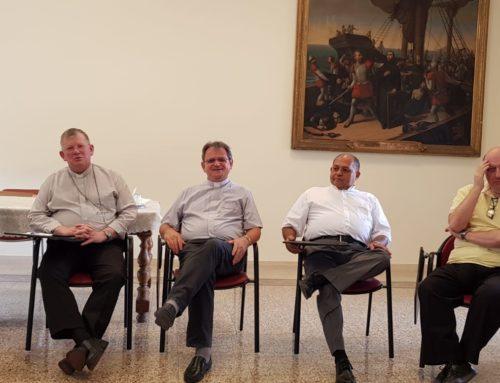 Dom Jaime Spengler visita o Colégio Pio Brasileiro
