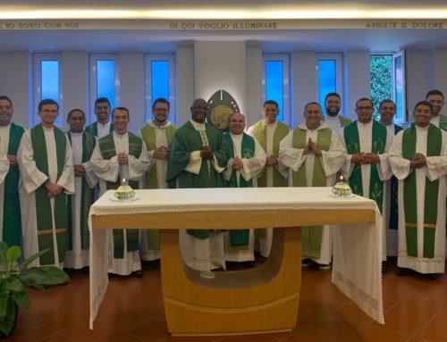 Novos Presbíteros Estudantes realizam Retiro Espiritual