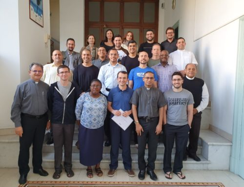 Novos padres estudantes do Colégio concluem curso de italiano