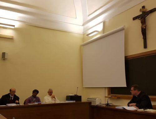Pe. Osmar Debatin defende tese doutoral