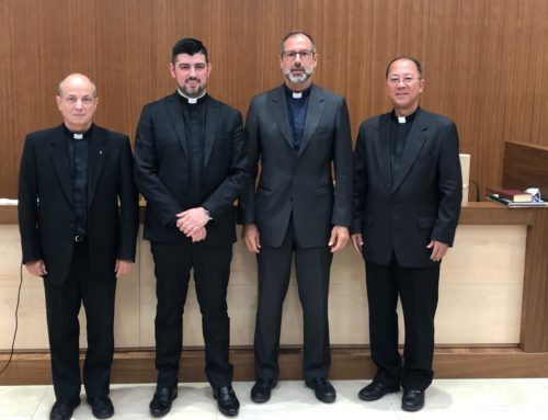 Pe. Márcio Fernando França obtém o título de Doutor em Direito Canônico