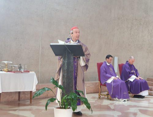 Cardeal Ladaria: Preparação para o Natal no Pio Brasileiro